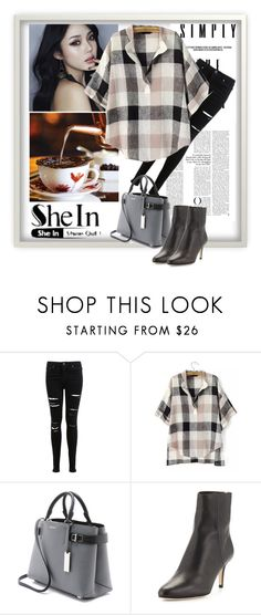"""SheIn"" by klementina-r ❤ liked on Polyvore featuring Miss Selfridge, Michael Kors and Jimmy Choo"