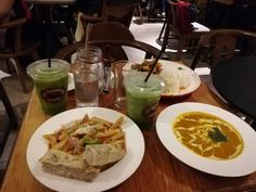 Nice branch in Baguio perfect for dinner. Check out their lime and basil shake and pumpkin soup. Lime And Basil, Baguio, Pumpkin Soup, Shake, Dinner, Nice, Ethnic Recipes, Check, Food