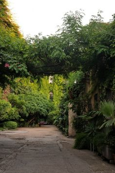 secret garden in barcelona