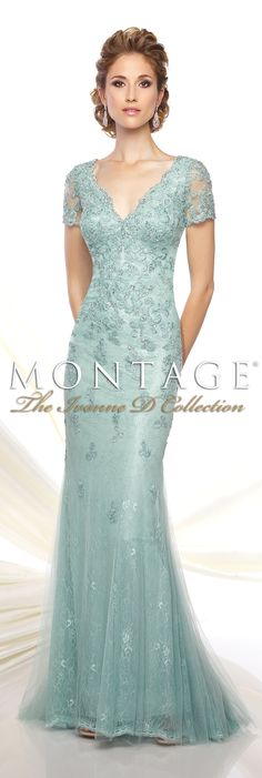 Montage The Ivonne D Collection Spring 2016 - Style No. 116D32 #eveninggowns