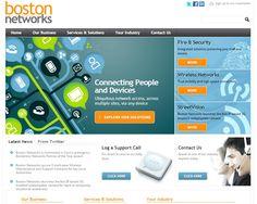 Boston Networks Website