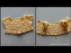 Pala de crochê para vestido de bebê de 0 a 3 meses PARTE 1 - YouTube Baby Girl Crochet, Crochet Baby Clothes, Crochet For Kids, Baby Dress Patterns, Crochet Patterns, Little Girl Videos, Baby Girl White Dress, Crochet Summer Dresses, Diy Bebe