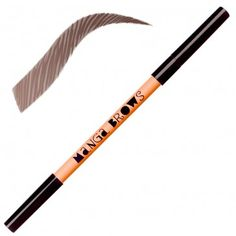Kit per la definizione delle sopracciglia color castano scuro, mogano e castano intenso.