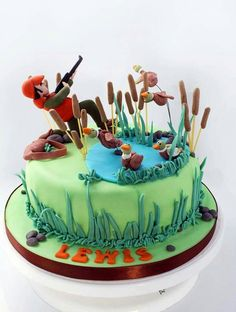 Duck Hunting cake                                                                                                                                                                                 More