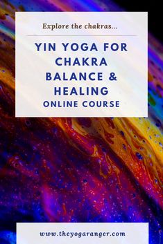Want to learn more about the Chakras and how to connect to them using Yin Yoga? Join me in my Udemy course!