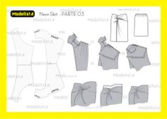 Knot skirt patterns instructions