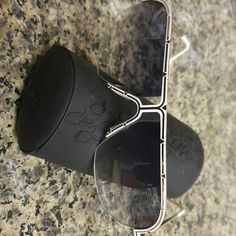 Cazal Sunglasses Authentic White & Gold Cazal Sunglasses. Never used. Beautiful pair of sunglasses. Perfect for summer! Comes with case and authentication card. No Trades Cazal Accessories Sunglasses