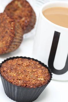 Nyttiga frukostmuffins Breakfast Snacks, Breakfast Time, Breakfast Recipes, Raw Food Recipes, Brunch Recipes, Health Snacks, Healthy Sweets, No Bake Cake, Food And Drink