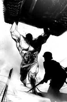 Hulk Smash by Ben Oliver