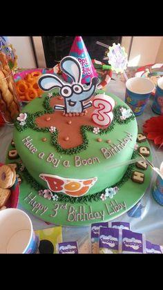 Boj birthday cake - for a Boj fan's 3rd birthday.
