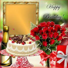 Happy Birthday Didi, Happy Birthday Wishes Photos, Birthday Wishes Flowers, Happy Birthday Frame, Happy Birthday Wishes Images, Happy Birthday Celebration, Happy Birthday Flower, Birthday Frames, Happy Birthday Greetings