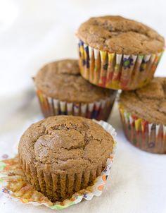 Nutella Bran Muffins: A great grab-n-go breakfast!
