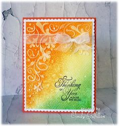 Across the Miles by frenziedstamper - Cards and Paper Crafts at Splitcoaststampers