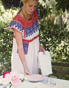 Gwyneth Paltrow from her cookbook, My Father's Daughter - wearing a dress from Isabel Marant
