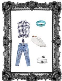 Un #look #trendy e #birikino accompagnato dai bellissimi #bracciali #woman e #roll!