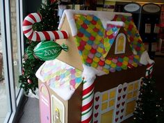 gingerbread playhouse | ... Gingerbread House Decoration To Make A Gingerbread Playhouse