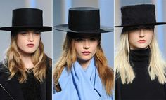 Fall/ Winter 2014-2015 Headwear Trends: Amish Hats  #hats #headwear