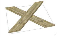 Hoe maak je een tafel van steigerhout? | voordemakers.nl
