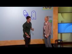 "Hahahahah.. At 0:29, Joe: ""HEY NOW!""   Pictionary with Jane Lynch and the Jonas Brothers!"