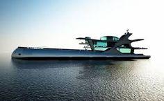 Resultado de imagem para futuristic yacht concept