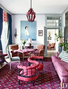 Every object in Pedro Espírito Santo's magnificent Lisbon residence bears witness to the banking heir turned top decorator's peripatetic life. | archdigest.com