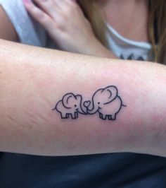 Ils sont mignons, ces éléphants ! Parent & enfant, une idée à explorer.