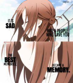 Это грустно, когда люди, которые подарили тебе лучшие воспоминания, стали воспоминанием