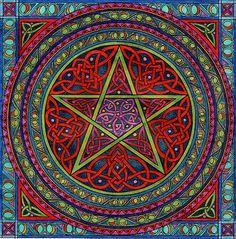 ✯ Celtic Pentagram .. By CherrieB✯