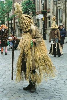 Aughakillymaude Community Mummers from County Fermanagh, Northern Ireland.