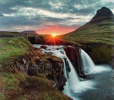 Sun in Iceland #travel