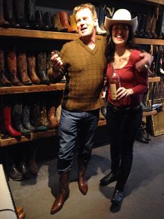 Will Chase bought some Planet Cowboy Boots for his NASHVILLE tour ...
