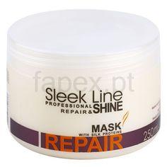 Stapiz Sleek Line Repair máscara renovadora para cabelos danificados e quimicamente tratados