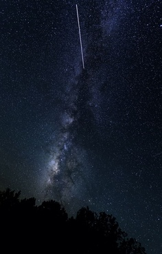 The International Space Station Over the Grand CanyonCredit: Adam SchmidAstrophotographer Adam Schmid sent in a photo of the Milky Way with the Internataional Space Station passing by. He took the photo at Navajo Point in the Grand Canyon, AZ, May 19th, 2013.