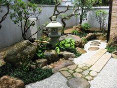 Indoor Zen Garden, Japanese Garden Backyard, Modern Japanese Garden, Japanese Garden Landscape, Zen Rock Garden, Buddha Garden, Zen Garden Design, Japan Garden, Japanese Gardens