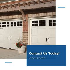 Garage Doors For Sale, Carriage House Garage Doors, Curb Appeal, House Styles, Outdoor Decor, Modern, Horse, Touch, Design