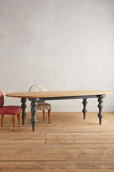 Blythe Dining Table #anthropologie
