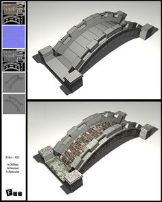 Low poly bridge by akdesignstudios.deviantart.com on @deviantART