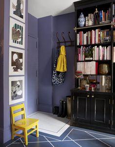Purple   Bright Yellow