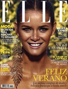 Flavia De Oliveira for ELLE Spain July 2013