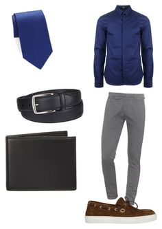 """Casual day"" by richieri on Polyvore featuring Dondup, Versus, Henderson, Columbia, The Men's Store, Brooks Brothers, men's fashion and menswear"