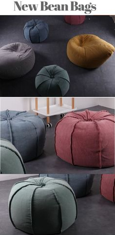 Beautiful collection of beanbag chairs. c4f4ec7b609c1