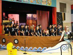 Pirates! The Musical set