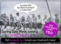 See everyone loves a spa day!