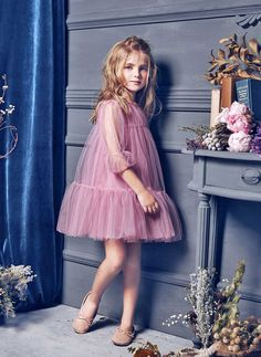 Nellystella LOVE Alice Dress in Lavender Herb - N15F004 - PRE-ORDER