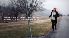 Meet Denise Claycomb, the first person to run 2,000 Charity Miles.