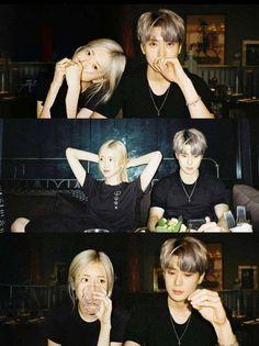 Kpop Couples, Cute Couples, Foto Rose, Choi Seung Hyun, Rose Park, Uzzlang Girl, Relationship Goals Pictures, Ulzzang Couple, Jung Jaehyun