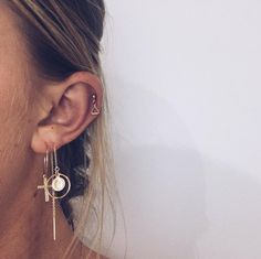 """3 Likes, 1 Comments - love isabelle (@loveisabellejewellery) on Instagram: """"hoops & threads :))))"""""""