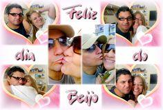 Todo dia é dia do Beijo... abraço... carinho... atenção e muito amor!