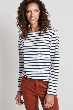 2 for £40 Breton Stripe Tops. A Seasalt Bestseller In Organic Cotton