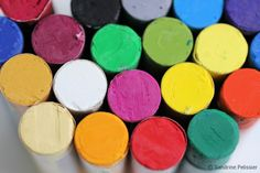 How to use oil pastels, what you can do with this under-estimated medium. by SANDRINE PELISSIER on ARTiful, painting demos